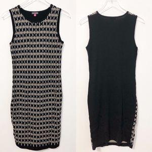 Vince Camuto Jacquard Knit Sweater Dress